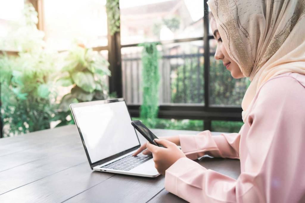 Membangun toko online hijab