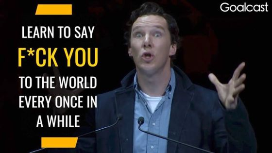 Inspiring Benedict Cumberbatch